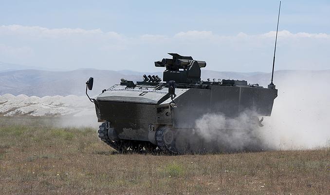 Türkiye'nin tank avcısı 'Kaplan' görücüye çıkıyor