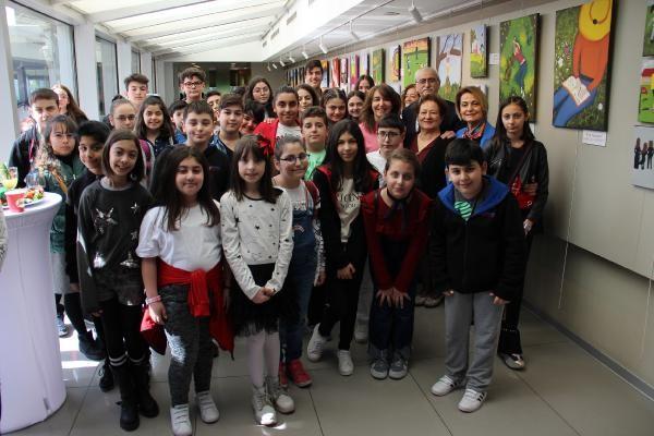 Ortaokul öğrencileri kanser hastası akranlarına umut oldu