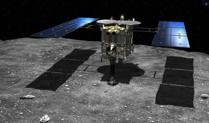 Ryugu asteroidinde yapay krater oluşturuldu