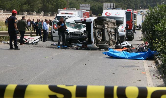 Buca'da trafik faciası: 7 ölü