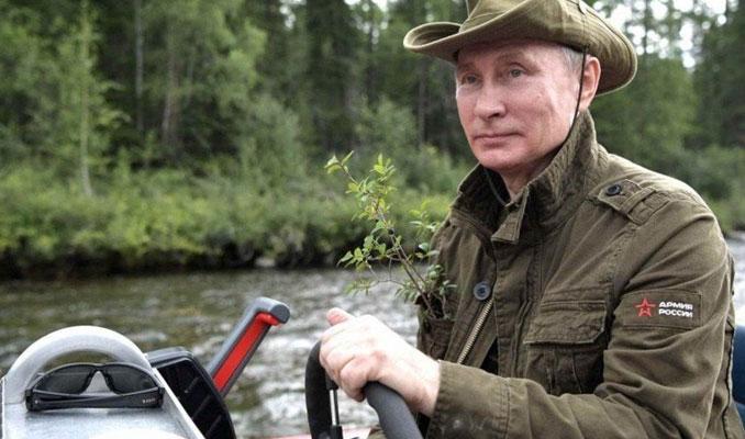 Putin'in Tuva tatilinde giydiği türden montlar satışta