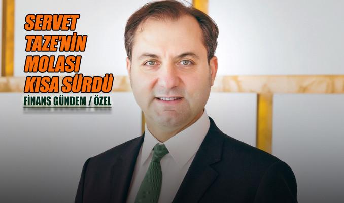 Servet Taze'nin yeni adresi T Bank