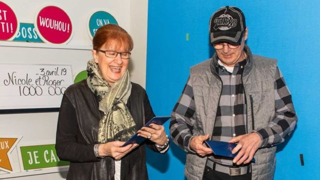 Şanslı çift! 1 milyon dolarlık kayıp loto kuponunu son anda buldular