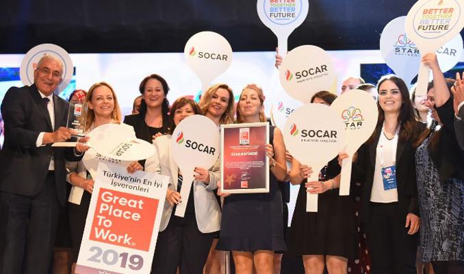 SOCAR Türkiye ve iştirakleri 2019'un en iyi işverenleri!