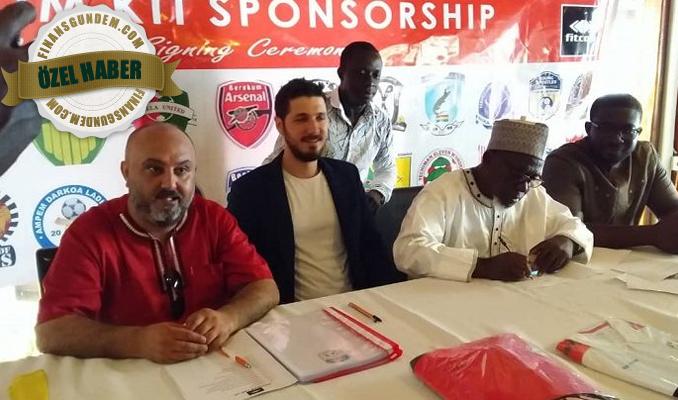 Türk şirketten sponsorluk imzası: Gana'da 62 takımla anlaştı
