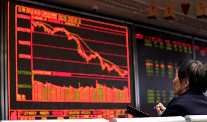 Çin borsası ticaret savaşı dinlemedi