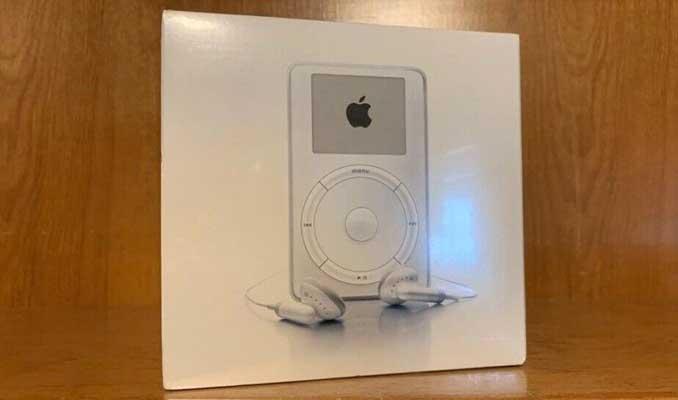 18 yıllık iPod için minik bir servet istiyor