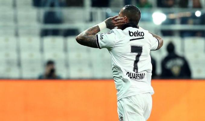 Beşiktaş: 2-1 :Alanyaspor