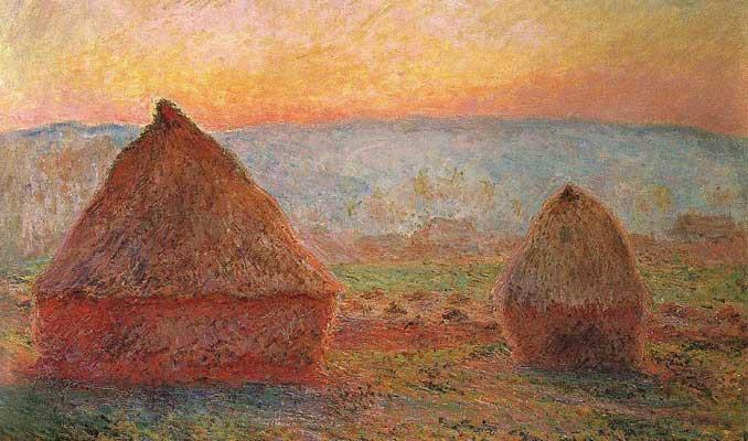 Monet'nin Les Meules tablosu 110.7 milyon dolara satıldı