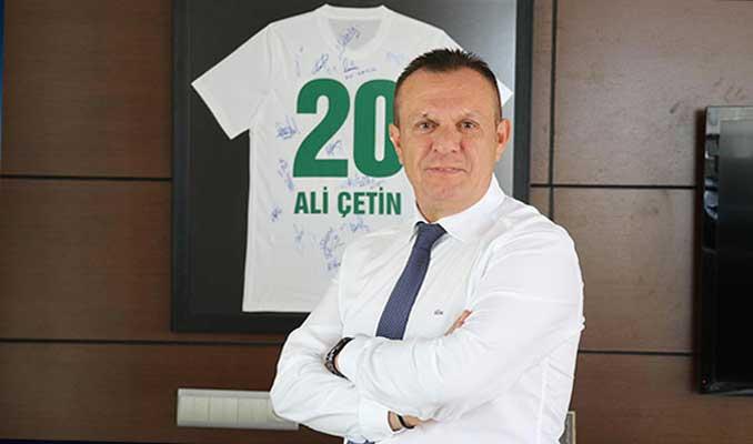 Denizlispor Başkanı Çetin: Süper Lig'de hedefimiz ilk 5