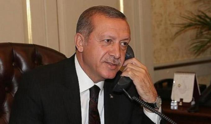 Erdoğan'dan telefon diplomasisi
