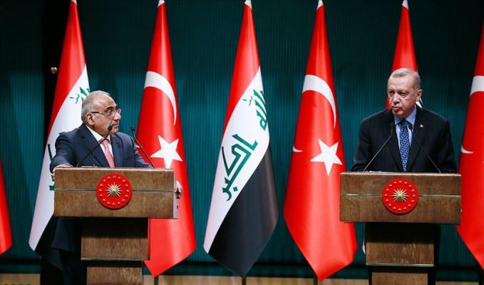 Erdoğan'dan Irak ile askeri iş birliği mesajı