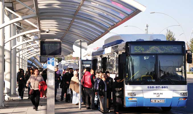 Ankara'da tüm bayramlarda ulaşım ücretsiz oldu