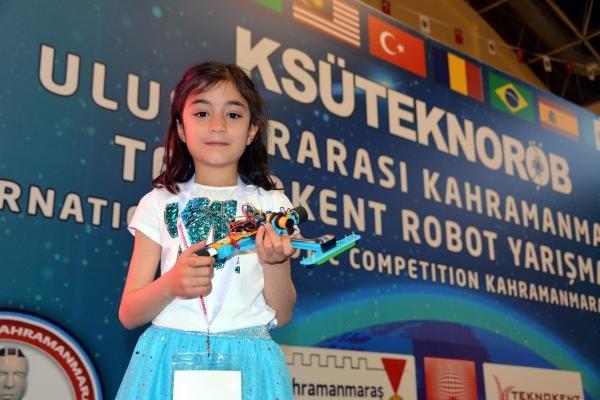 Küçük Miray, uluslararası yarışmaya damga vurdu