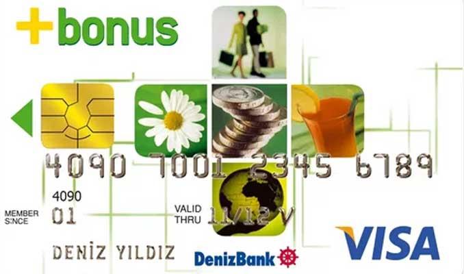 Austria Card Türkiye'den DenizBank Bonus Kart üretimi