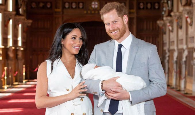 İşte İngiliz kraliyet ailesinin yeni üyesi