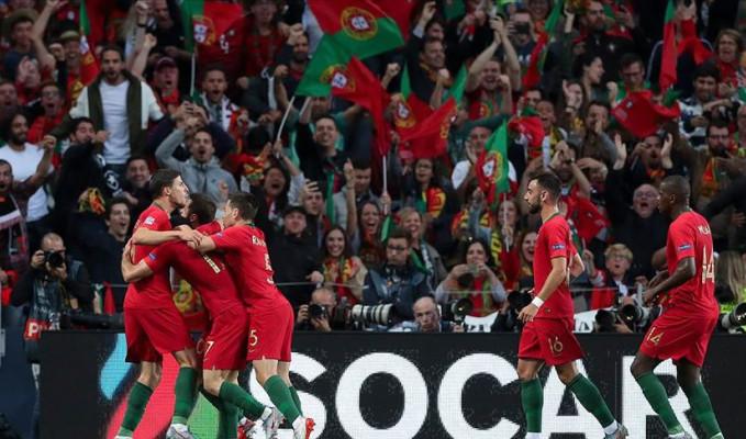 UEFA Uluslar Ligi'nde şampiyon Portekiz oldu