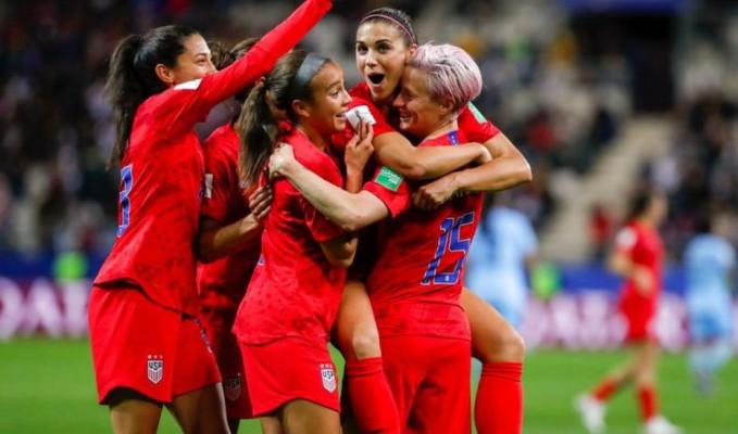 ABD'li kadın futbolculardan dünya rekoru: 13-0