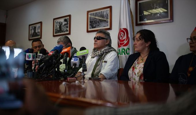 FARC'ın sembol ismi nihayet Kolombiya Kongresi'nde yerini aldı