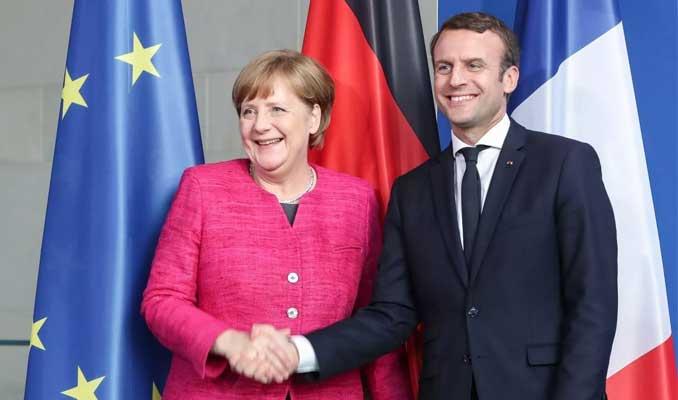 Macron: Eğer Merkel AB liderliği için adaylığını koyarsa, desteklerim