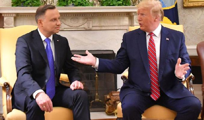 Trump imzaladı! Polonya'ya bin ABD askeri