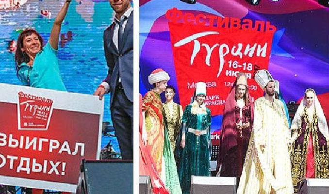 Moskova'da Türkiye rüzgarı