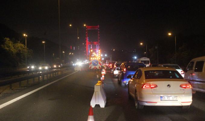 FSM ve 15 Temmuz Şehitler köprüsünde bakım ve onarım çalışması