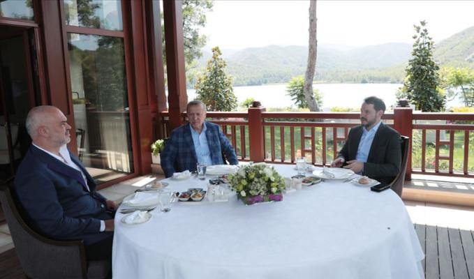 Erdoğan, Arnavutluk Başbakanı Rama'yı kabul etti