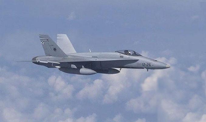 Şoygu'nun uçağına yaklaşmaya çalışan NATO uçağı uzaklaştırıldı