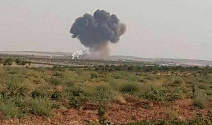 Rus Su-22 uçağı Suriye'de düşürüldü