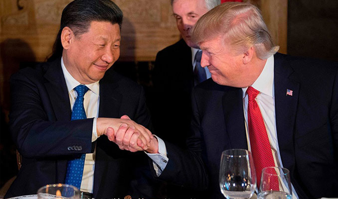 Trump: Şi isterse Hong Kong sorununu çözer