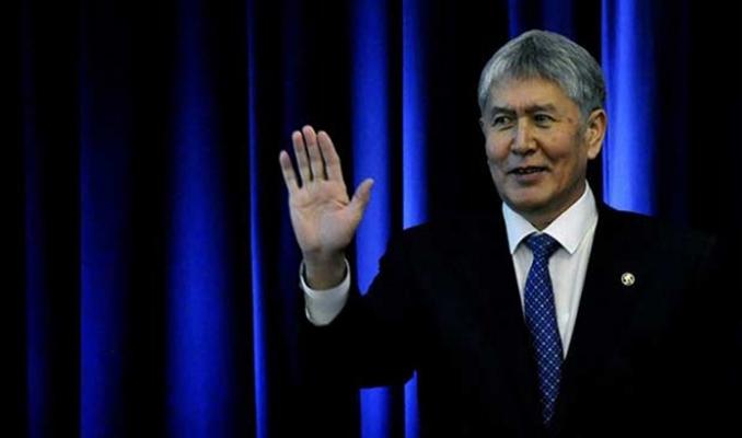 Atambayev'in mal varlığı donduruldu