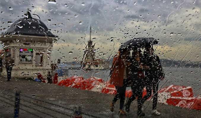 Marmara'da sağanak