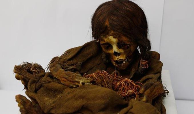500 yıllık İnka Kızı ülkesine geri gönderildi
