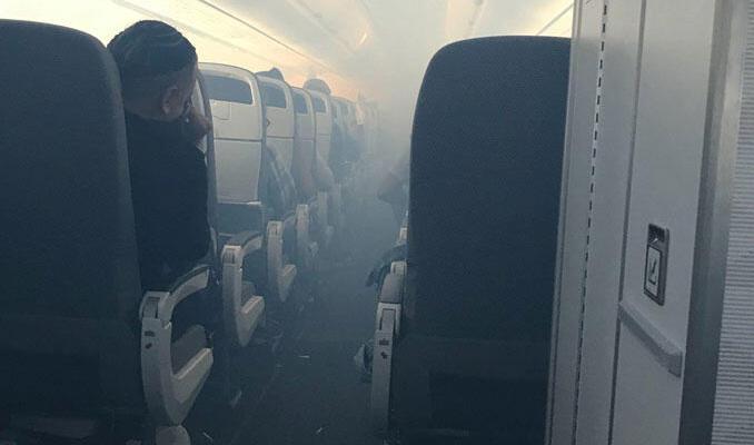 Havada büyük panik! Uçak acil iniş yaptı