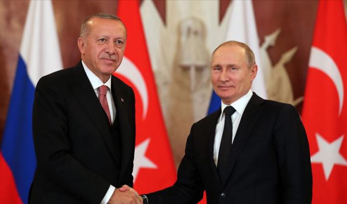 Erdoğan Rusya'ya gidiyor: Putin ile görüşecek