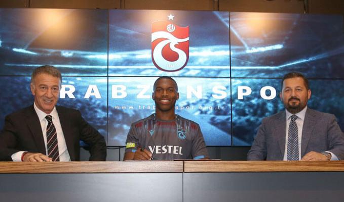İngiliz yıldız Daniel Sturridge Trabzonspor ile sözleşme imzaladı