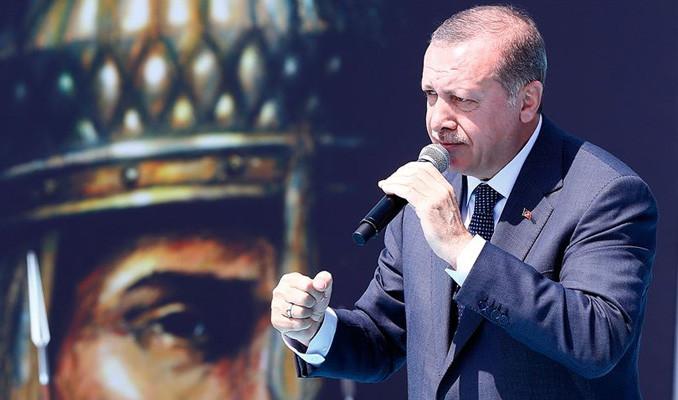 Erdoğan'dan Fırat'ın Doğusu'nda kararlılık mesajı