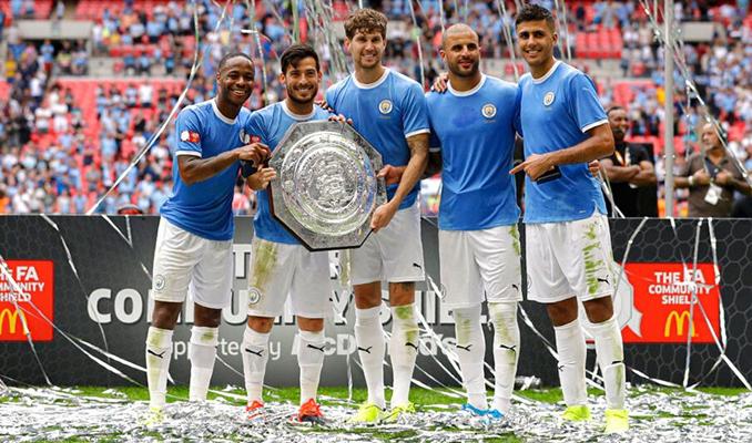 Community Shield kupası Manchester City'nin oldu