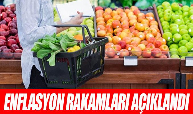 Enflasyon verisi açıklandı