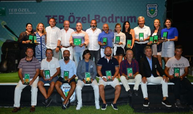 TEB Özel Bodrum Golf Turnuvası sona erdi