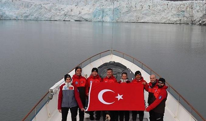 Türk bilim insanlarının rotası Kuzey Kutbu