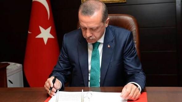 Cumhurbaşkanı Erdoğan'dan Moritanya'ya büyükelçi ataması