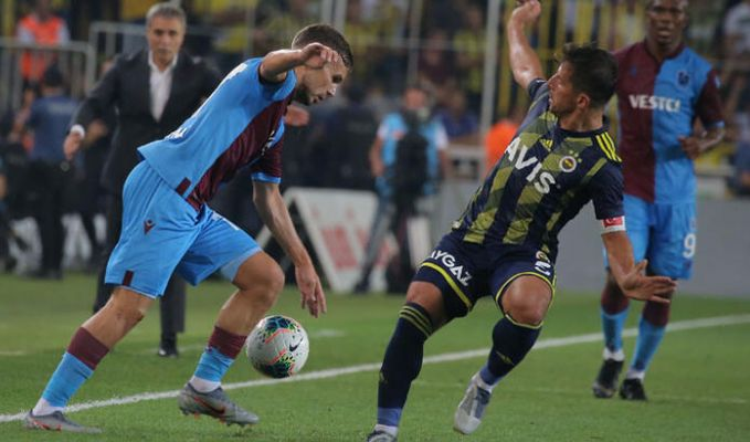 Fenerbahçe: 1-1 :Trabzonspor