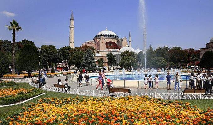 İstanbul'a turist akını