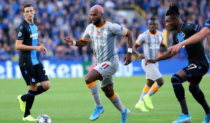 Galatasaray, Club Brugge deplasmanından tek puanla döndü