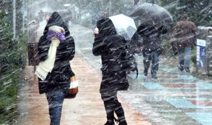 Meteoroloji uyardı! Karla karışık geliyor