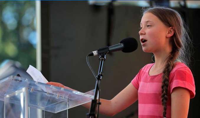 16 yaşındaki çevre eylemcisi Thunberg Türkiye'yi BM'ye şikayet etti