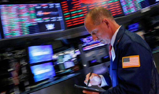 New York borsası ticaret savaşları endişesiyle düştü
