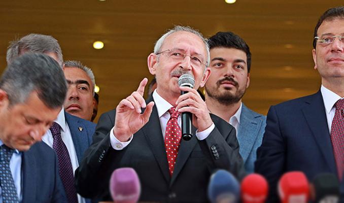 Kılıçdroğlu'ndan Kaftancıoğlu'nun aldığı mahkumiyet kararına tepki
